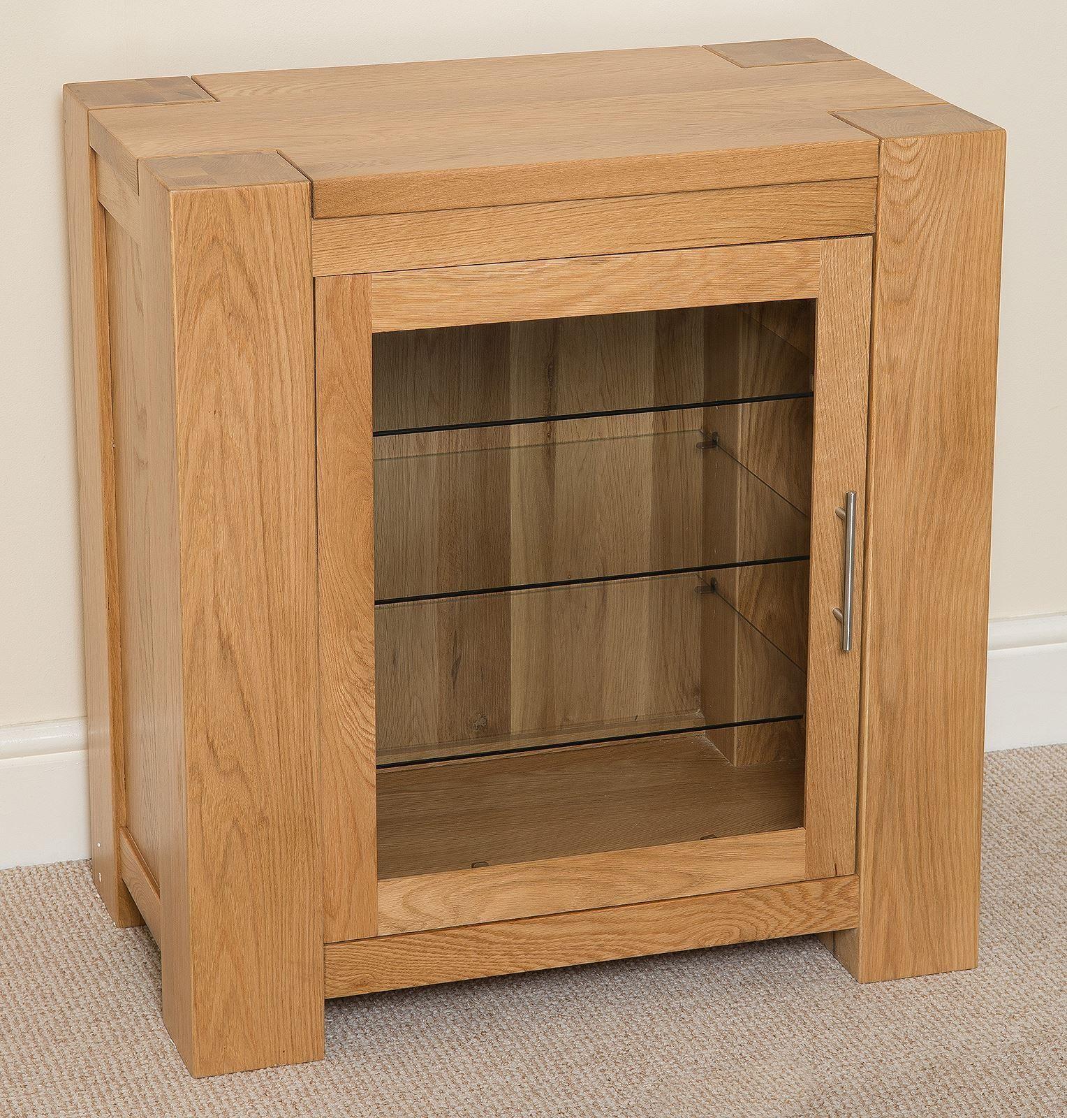 kuba solid oak hi fi media storage unit modern furniture. Black Bedroom Furniture Sets. Home Design Ideas