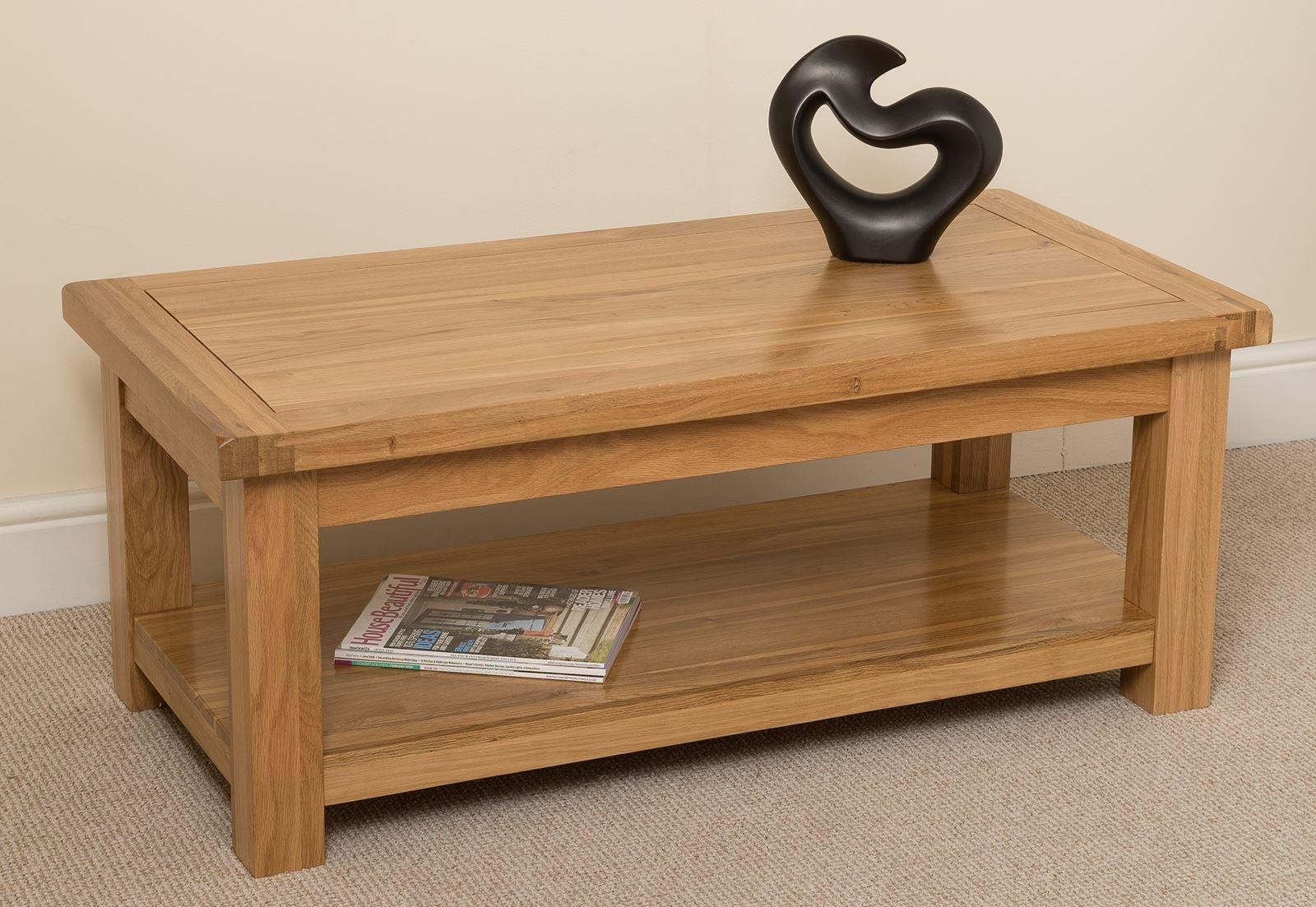Genial Cottage Light Solid Oak Coffee Table