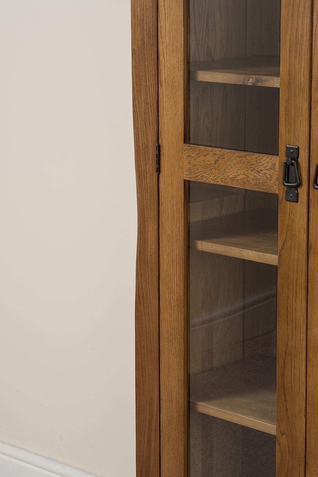 Cotswold oak display cabinet modern furniture direct for Modern furniture direct