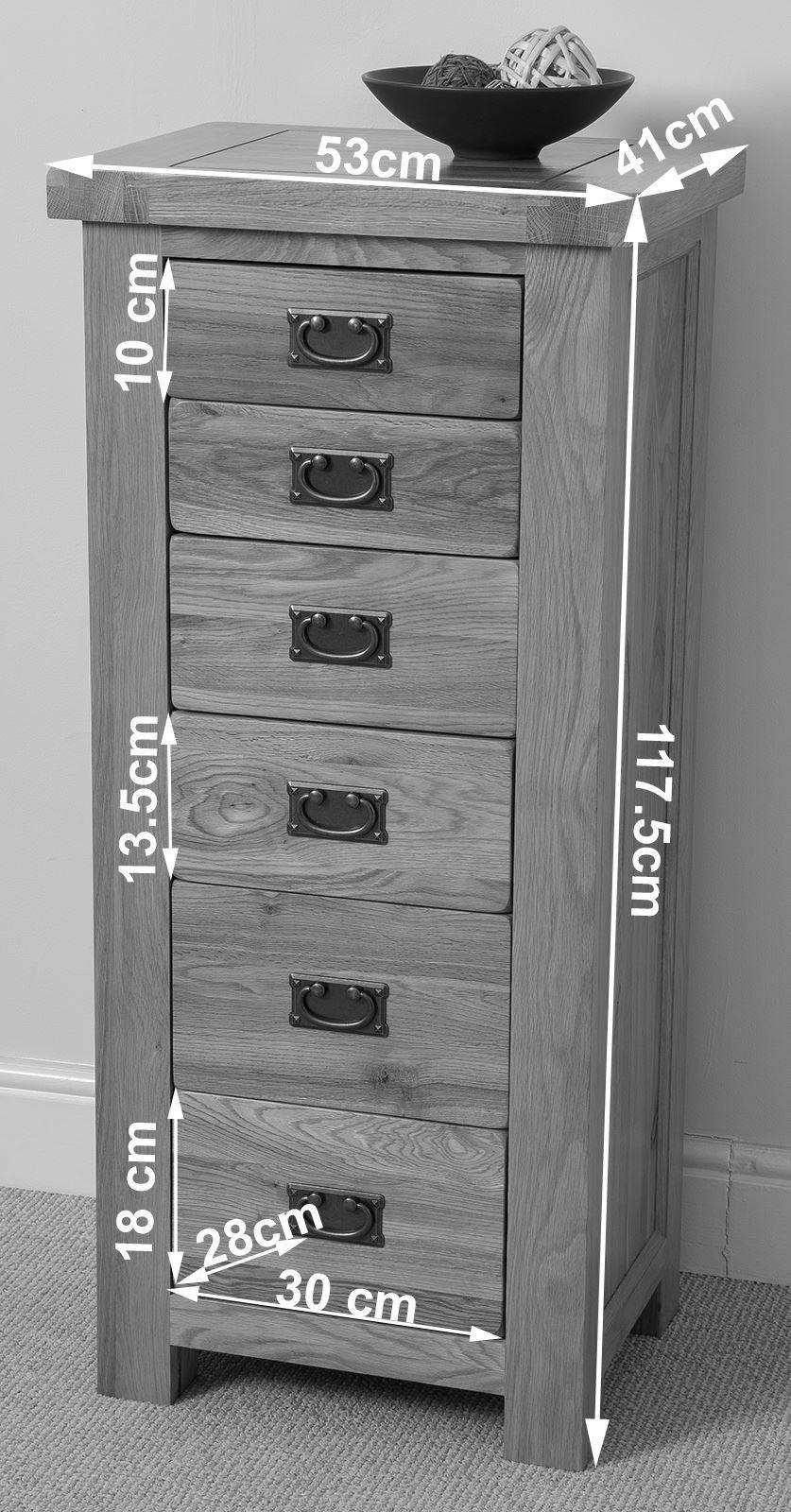 cottage light oak tallboy modern furniture direct. Black Bedroom Furniture Sets. Home Design Ideas