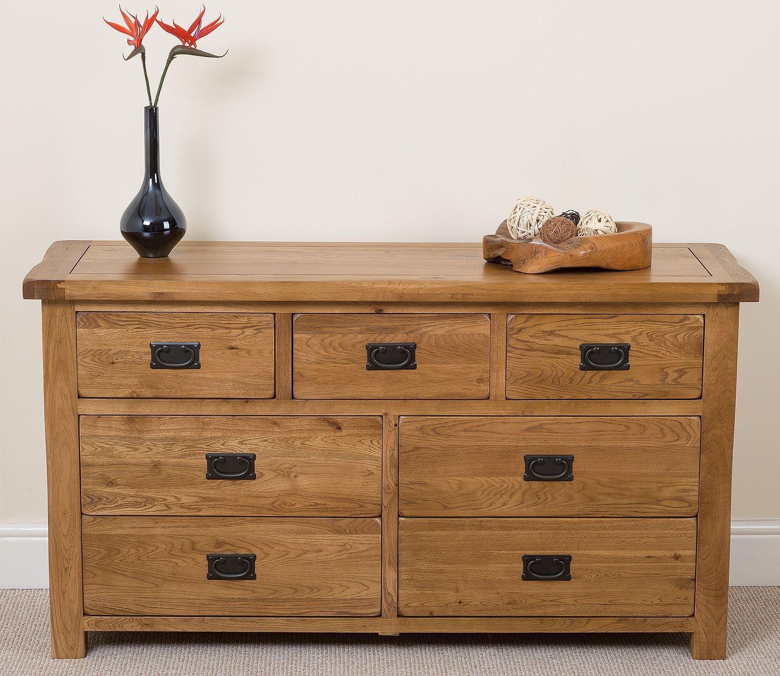 cotswold oak chest of drawers modern furniture direct. Black Bedroom Furniture Sets. Home Design Ideas