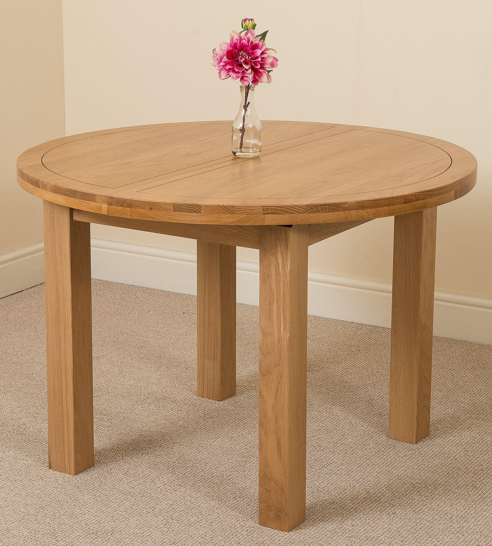 Round Table Lincoln.Edmonton Solid Oak Extending Oval Dining Table With 6 Lincoln Solid