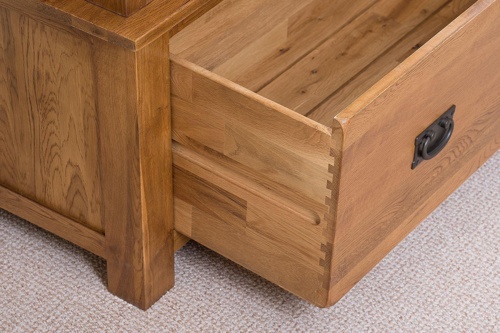 cotswold triple solid oak wardrobe modern furniture direct. Black Bedroom Furniture Sets. Home Design Ideas
