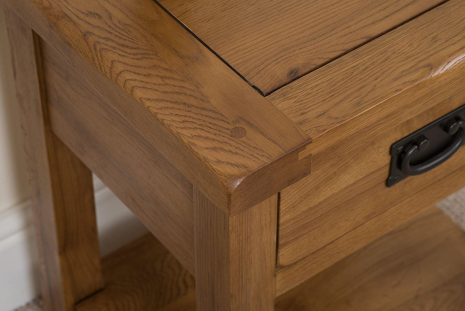 Cotswold oak lamp table modern furniture direct cotswold rustic solid oak lamp table aloadofball Images