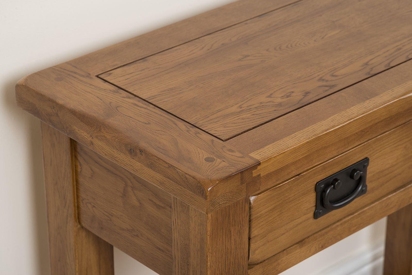 cotswold oak console table modern furniture direct. Black Bedroom Furniture Sets. Home Design Ideas