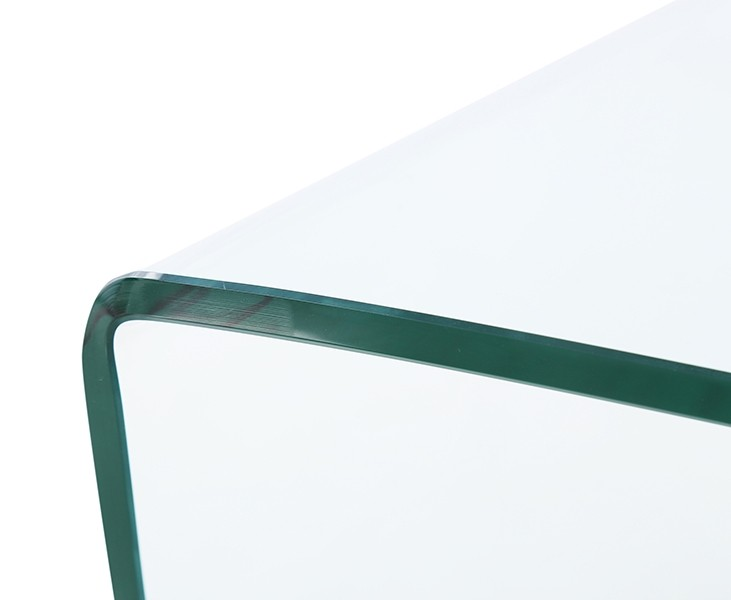 Glass Coffee Table Images.Neptune Stylish Bent Glass And Steel Ball Coffee Table Living Room