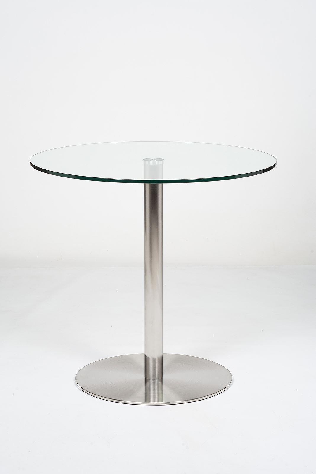 Target 80cm Glass Dining Table Modern Furniture Direc