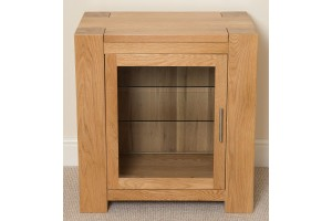 Kuba Solid Oak HI-FI Media Storage Unit