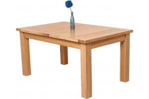 Seattle Solid Oak 150cm-210cm Extending Dining Table