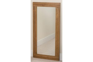 Cotswold Rustic Solid Oak Wall Mirror