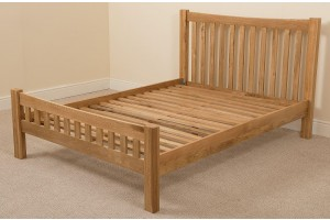 Cottage Solid Oak 4ft6 Double Bed Frame