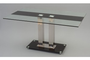 Roma Designer Glass Dining Table