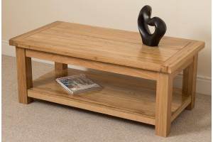 Cottage Light Solid Oak Coffee Table