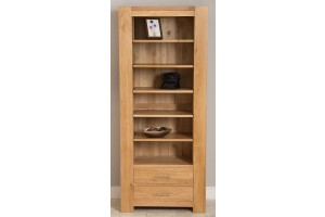 Kuba Solid Oak Large Bookcase