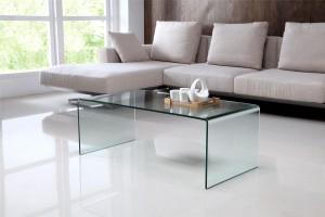 Nova Coffee Glass Table