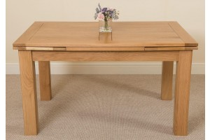 Richmond Solid Oak 140cm-220cm Extending Dining Table