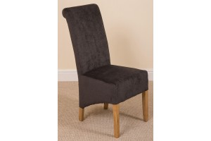 Left Side of Montana Dining Chair [Black Fabric]