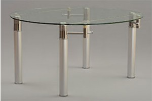Torino Extending Glass Dining Table