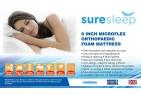 Orthopaedic Mattress 5ft King Size [6 inch] Sure Sleep