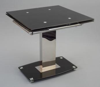 Enzo 80-120cm Extending Glass Dining Table - Not Extended
