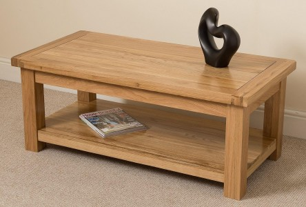 Cottage Solid Oak Coffee Table | Modern Furniture Direct