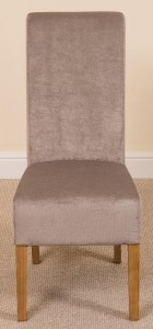 Full Length Montana Dining Chair [Grey Fabric]