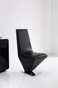 Rita Designer Dining Chairs [Black]