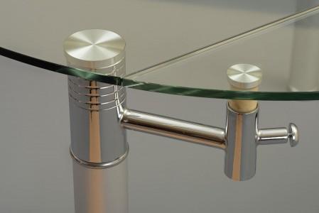 Side of Torino Designer 74cm-120cm Extending Dining Table