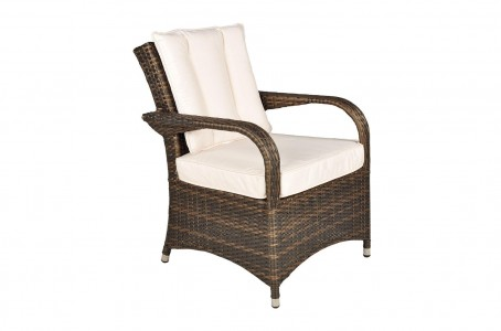 Arizona Rattan 4 Seat Dining Set [Seat Table Only]