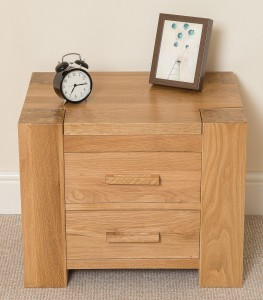 Kuba Oak bedside table top photo - Bedroom Furniture