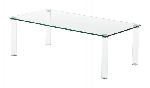 Glass Coffee Table Images.Glacier Modern Tube Leg Glass Design Coffee Low Table Living Room